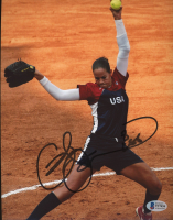 """Cat Osterman Signed 8x10 Photo Inscribed """"USA"""" (Beckett COA) at PristineAuction.com"""