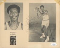 """Paul Silas Signed Suns 8x10 Print Inscribed """"Best Wishes"""" (JSA COA) (See Decription) at PristineAuction.com"""