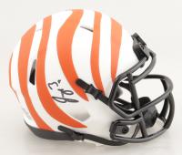 Joe Burrow Signed Bengals Lunar Eclipse Alternate Speed Mini Helmet (Fanatics Hologram) at PristineAuction.com