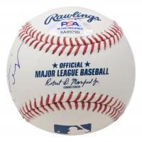 """Rainn Wilson Signed OML Baseball Inscribed """"Asst To The Regional MGR"""" (PSA COA) at PristineAuction.com"""