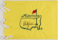 Phil Mickelson Signed Masters Tournament Pin Flag (JSA ALOA) at PristineAuction.com
