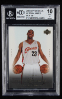 LeBron James 2003 Upper Deck LeBron James Box Set #12 / Willing & Able (BCCG 10) at PristineAuction.com