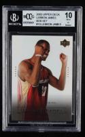 LeBron James 2003 Upper Deck LeBron James Box Set #19 / Time to Take Control (BCCG 10) at PristineAuction.com