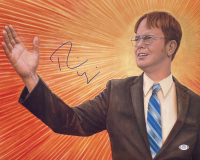 "Rainn Wilson Signed ""The Office"" 16x20 Photo (PSA COA) at PristineAuction.com"