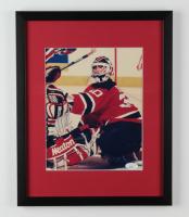 Martin Brodeur Signed Devils Framed 12x15 Photo Display (JSA COA) at PristineAuction.com