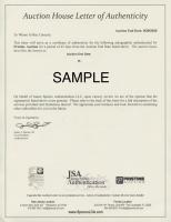 Golf Legends Stat Sheet Signed by (4) with Ben Hogan, Byron Nelson, Sam Snead & Gene Sarazen (JSA ALOA) at PristineAuction.com