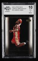 LeBron James 2003 Upper Deck LeBron James Box Set #18 / A Natural (BCCG 10) at PristineAuction.com