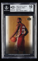 LeBron James 2003 Upper Deck LeBron James Box Set #30 / Ready or Not (BCCG 10) at PristineAuction.com