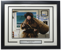 """Rainn Wilson Signed """"The Office"""" 16x20 Custom Framed Photo Display Inscribed """"No One Fears Santa The Way They Fear Belsnickel!"""" (PSA COA) at PristineAuction.com"""