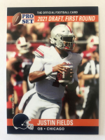 Justin Fields 2021 Pro Set Draft Day #PSDD8 RC at PristineAuction.com