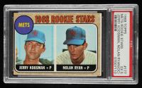 Jerry Koosman / Nolan Ryan 1968 Topps #177 Rookie Stars RC (PSA 5) (OC) at PristineAuction.com