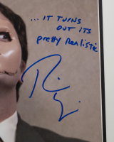 """Rainn Wilson Signed """"The Office"""" 16x20 Custom Framed Photo Display Inscribed """"...It Turns Out Its Pretty Realistic"""" (PSA COA) at PristineAuction.com"""