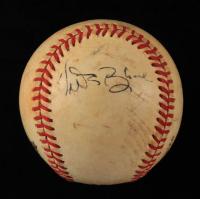 Vida Blue Signed ONL Baseball (JSA COA) (See Description) at PristineAuction.com