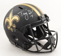 Taysom Hill Signed Saints Full-Size Eclipse Alternate Speed Helmet (PSA COA) at PristineAuction.com