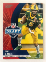 Trey Lance 2021 Score Draft #D4 RC at PristineAuction.com