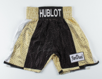 Floyd Mayweather Signed Boxing Trunks (PSA COA) at PristineAuction.com