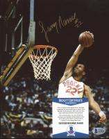 Larry Nance Signed Suns 8x10 Photo (Beckett COA) at PristineAuction.com