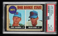 Jerry Koosman / Nolan Ryan 1968 Topps #177 Rookie Stars RC (PSA 8) (MC) at PristineAuction.com