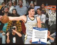 Larry Nance Jr. Signed Cavaliers 8x10 Photo (Beckett COA) at PristineAuction.com