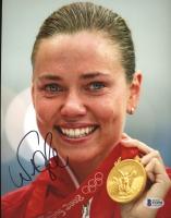 Natalie Coughlin Signed Team USA 8x10 Photo (Beckett COA) at PristineAuction.com