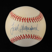 Todd Hollandsworth Signed ONL Baseball (JSA COA) at PristineAuction.com