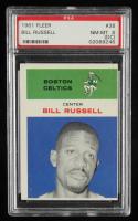 Bill Russell 1961-62 Fleer #38 (PSA 8) (OC) at PristineAuction.com