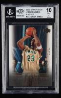 LeBron James 2003 Upper Deck LeBron James Box Set #3 / National Champs (BCCG 10) at PristineAuction.com