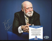 Vint Cerf Signed 8x10 Photo (Beckett COA) at PristineAuction.com