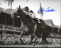 Steve Cauthen Signed 8x10 Photo (Beckett COA) at PristineAuction.com