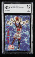 Michael Jordan 1998-99 Fleer #142 PF (BCCG 10) at PristineAuction.com