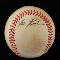 Joe Nuxhall Signed ONL Baseball (JSA COA) at PristineAuction.com