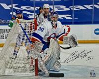 Ilya Sorokin Signed Wild 16x20 Photo (Fanatics Hologram) at PristineAuction.com