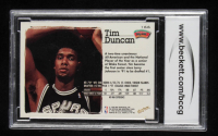 Tim Duncan 1997-98 Hoops #166 RC (BCCG 10) at PristineAuction.com