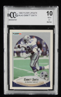 Emmitt Smith 1990 Fleer Update #U40 RC (BCCG 10) at PristineAuction.com