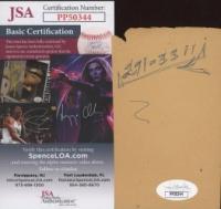 Mel Daniels & Neal Walk Signed Cut (JSA COA) at PristineAuction.com
