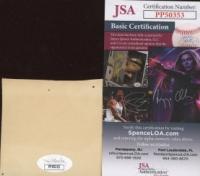 Walt Wesley Signed Cut (JSA COA) at PristineAuction.com