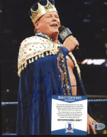 """Jerry Lawler Signed WWE 8x10 Photo Inscribed """"King"""" (Beckett COA) at PristineAuction.com"""