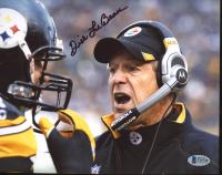 Dick LeBeau Signed Steelers 8x10 Photo (Beckett COA) at PristineAuction.com