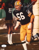 """Ray Nitschke Signed Packers 8x10 Photo Inscribed """"H.O.F. 1978"""" (JSA COA) at PristineAuction.com"""