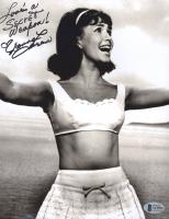 "Donna Loren Signed ""Bikini Beach"" 8x10 Photo Inscribed ""Love's A Secret Weapon!"" (Beckett COA) at PristineAuction.com"