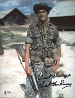 """Chuck Mawhinney Signed 8x10 Photo Inscribed """"Best Always"""" (Beckett COA) at PristineAuction.com"""