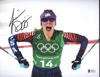 Jessie Diggins Signed Team USA 8x10 Photo (Beckett COA) at PristineAuction.com