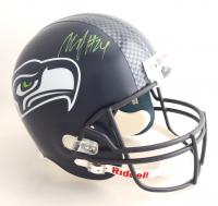 Marshawn Lynch Signed Seahawks Full-Size Helmet (PSA COA) at PristineAuction.com