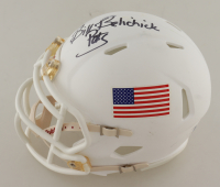"Bill Belichick Signed Speed Mini-Helmet Inscribed ""Pats"" (Beckett COA) at PristineAuction.com"