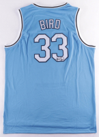 Larry Bird Signed Jersey (PSA COA) (See Description) at PristineAuction.com
