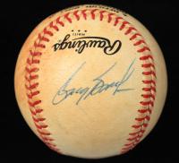 Greg Brock Signed ONL Baseball (JSA COA) (See Description) at PristineAuction.com