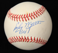 """Early Wynn Signed OAL Baseball Inscribed """"300"""" (JSA COA) (See Description) at PristineAuction.com"""