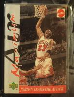 Michael Jordan 1999 Air Maximum Action Figure with Upper Deck Card at PristineAuction.com