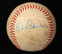 Chris Chambliss Signed ONL Baseball (JSA COA) (See Description) at PristineAuction.com