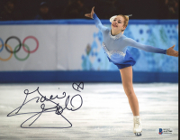 Gracie Gold Signed 8x10 Photo (Beckett COA) at PristineAuction.com